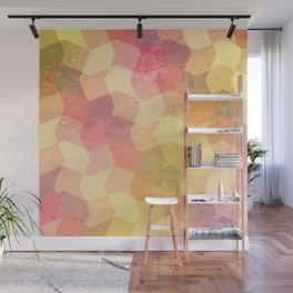 Frosty Candy - pattern Wall Mural