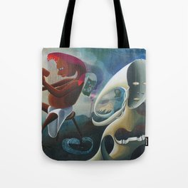 Self-Made Man and Empty-Headed Woman (1994) Tote Bag