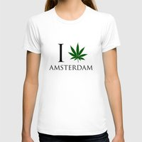 amsterdam T-shirts featuring Amsterdam  by mark ashkenazi