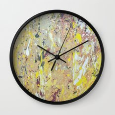 March rain Wall Clock