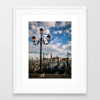 venice Framed Art Prints featuring Venice by Michelle McConnell