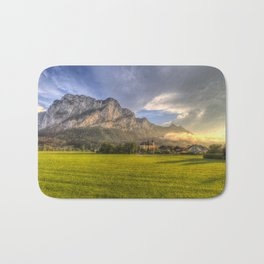 St Lorenz Austrian Alps Bath Mat