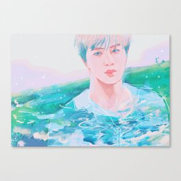 I see ocean Canvas Print