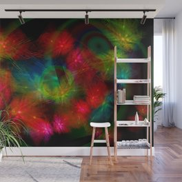 Butterfly Huddle Wall Mural