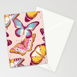Aflutter in Blush Stationery Cards