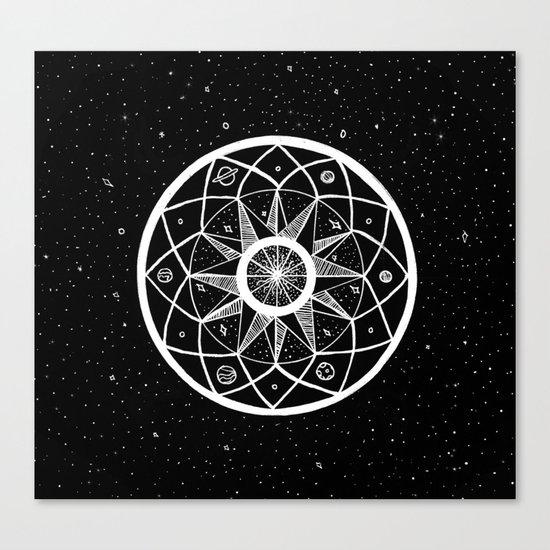 Cosmic Mandala Canvas Print