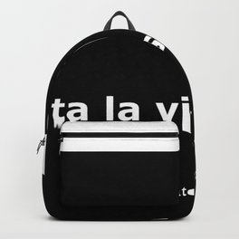 Terminator 2 quote Backpack