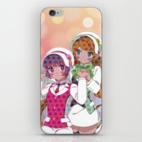 utena iPhone & iPod Skins featuring Yuri Kuma Arashi by Neo Crystal Tokyo