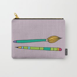 Crayon and Brush - My Trusted Tools Series Carry-All Pouch