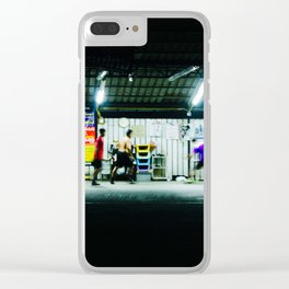 overtime Clear iPhone Case