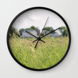 Country Daydream Wall Clock