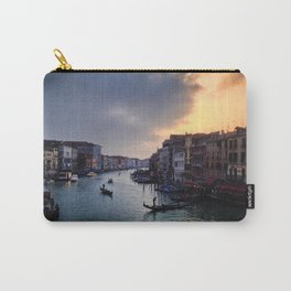 Ponte Rialto al Tramonto Carry-All Pouch