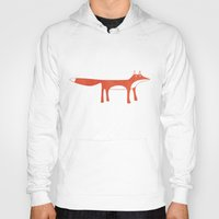 mr fox Hoodies featuring Mr Fox by Nic Squirrell
