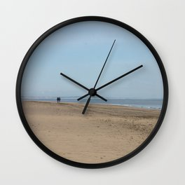 Broughty Ferry beach 2 Wall Clock