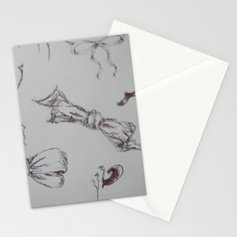 Bow study Stationery Cards