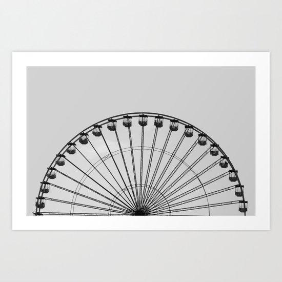 Wheel   (h) Art Print
