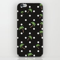 palm trees iPhone & iPod Skins featuring Palm Trees by BTP Designs