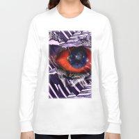 birdman Long Sleeve T-shirts featuring BirdMan by John Hansen