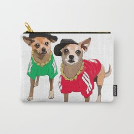 Chihuahua Dogs Run DMChi Carry-All Pouch
