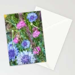 Cornflower Party Stationery Cards