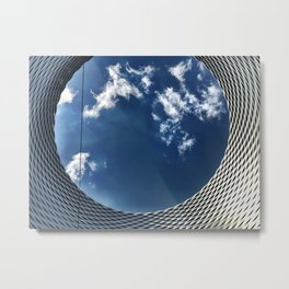 Looking Up at the World Metal Print
