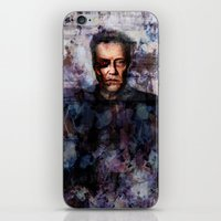 christopher walken iPhone & iPod Skins featuring Christopher Walken Terminator by Jay Gidwitz