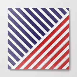 United States of America Flag Color #society6 #decor #buyart #artprint Metal Print