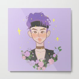 Kim Namjoon Metal Print