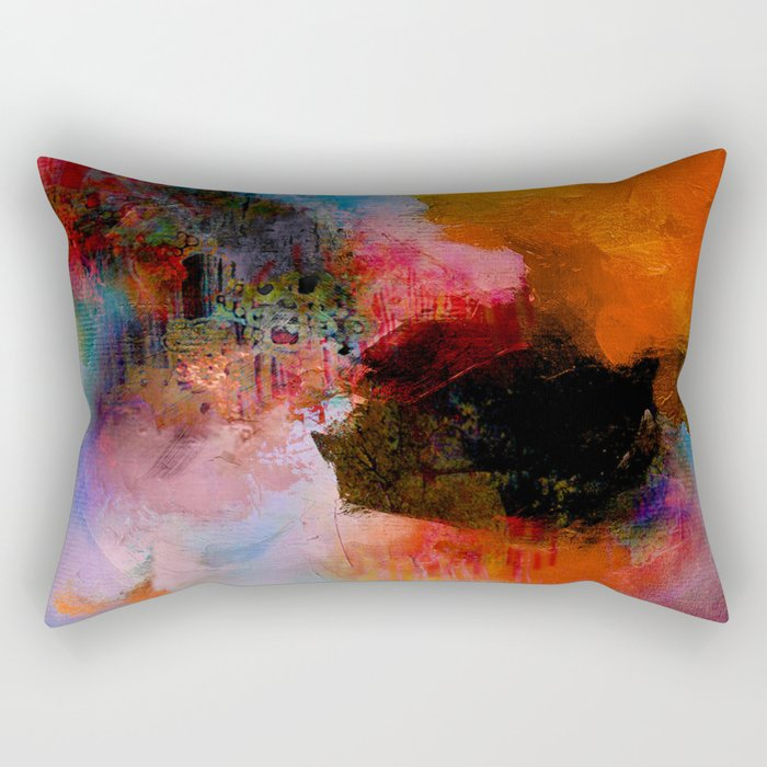 Somewhere in yourself Rectangular Pillow