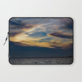 Beauty Above The Shoreline Laptop Sleeve