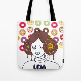 Princess Donut Leia Tote Bag