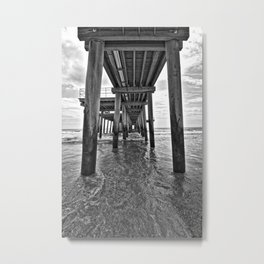 Under the boards Metal Print