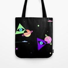 Space Galaxy Magic Tote Bag