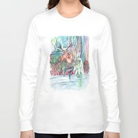 friendship Long Sleeve T-shirts featuring Friendship by Giulia Colombo