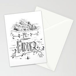 Me Fadder Stationery Cards