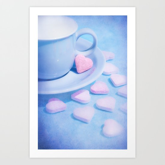 PROOF OF LOVE Art Print