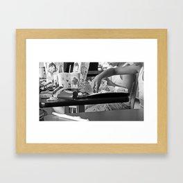 AMERICA: McDonalds Framed Art Print