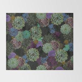 Remember Succulent Throw Blanket