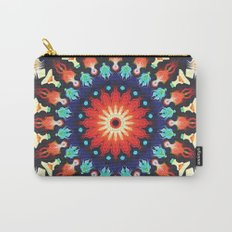 Colorful Mandala Motif Carry-All Pouch