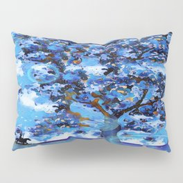 Plum Tree Hills Pillow Sham