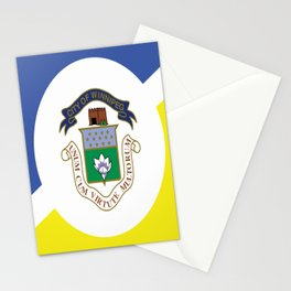 flag of winnipeg Stationery Cards