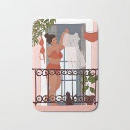 Laundry girl Bath Mat