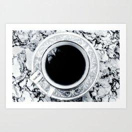 Obsidian Peace Art Print
