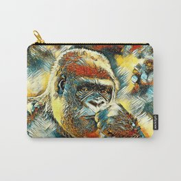AnimalArt_Gorilla_20180201_by_JAMColorsSpecial Carry-All Pouch