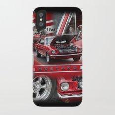 1966 Mustang  iPhone X Slim Case