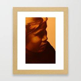 Hopi Girl Framed Art Print
