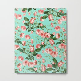 Rosy Life #society6 #decor #buyart Metal Print