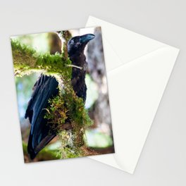 Ever Watchful Raven Stationery Cards