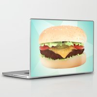 hamburger Laptop & iPad Skins featuring Hamburger by Tyler Keff Beasley