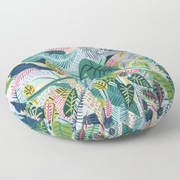 Jungle Pattern Floor Pillow